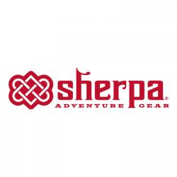 Logo for Sherpa adventure gear.