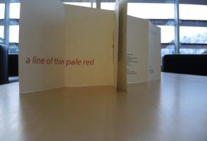 Lines of Thin Pale Blue and Red by Cutts and Finlay