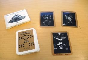 """A tarot card deck """"The Equinox celebration tarot"""" by Amir Bey"""