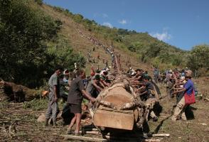 From the film Log Drum of Pessao, photo by Wanmai Konyak