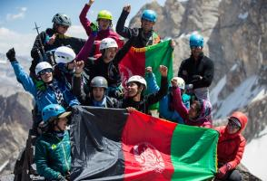 Image from the film Ascending Afghanistan