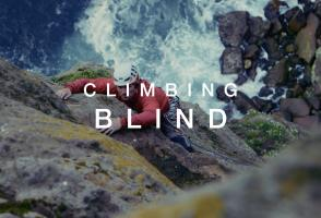 Image from the film Climbing Blind