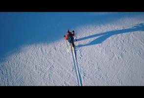 Image from the film The End of Snow