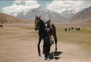 Image from the film For the Love of the Game