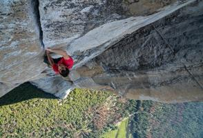 Image from the film Free Solo