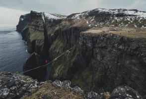 Image from the film Dreamwalkers – The Faroes Project