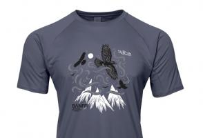 Rab Force SS T-Shirt Steel Banff Centre Mountain Film and Book Festival