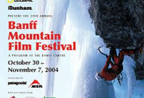 2004: Sara Rainford. Daniel Dulac on the mixed climb Musashi