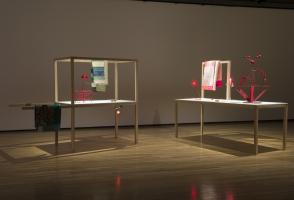 Art exhibit installations