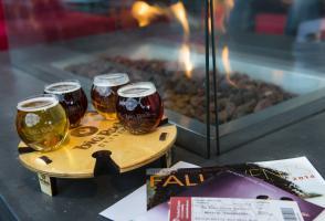 Maclab Bistro - Big Rock Brewery sample beers