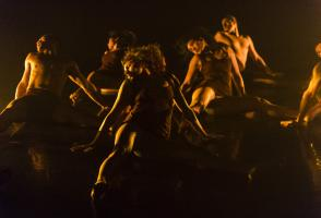 Indigenous Dance Residency performance, 2014