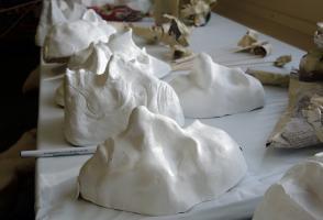 Drying masks