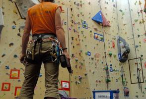 rock climbing, route setting, indoor climbing gym