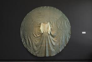 "Kite, ""Ziŋtkátȟó, wíhiyayela"", 2017. Courtesy the artist. Commissioned by Walter Phillips Gallery, Banff Centre for Arts and Creativity. Photo: Chelsea Yang-Smith"