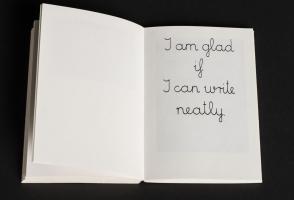 "Endre Tot, ""Book of an Extremely Glad Artist"". Berlin: Rainer Verlag (1981). Photo Meghan Krauss"