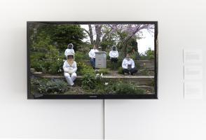 "Diane Borsato, ""Apiary Videos"", 2013. Single-channel HD video, 10 minutes. Courtesy the artist. Photo Katherine Whitt"