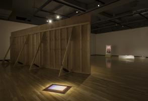 Installation view of 'No Visible Horizon', Walter Phillips Gallery, Banff Centre for Arts and Creativity. Photo Rita Taylor