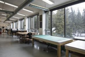 Main printmaking studio space