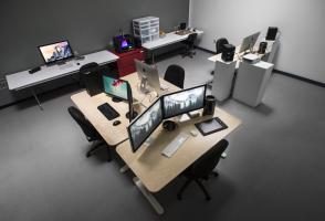 Digital Media Studio in Visual + Digital Arts