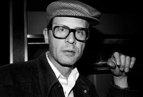 Black and white photo of Jim Herrington
