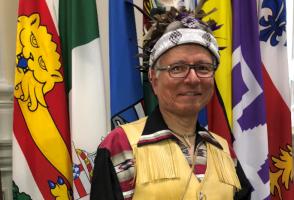 Photo of Elder Kanahsohon Kevin Deer