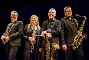 Qasar Saxophone Quartet - Banff Musicians in Residence Faculty