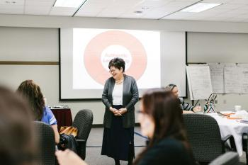 Indigenous Leadership classroom